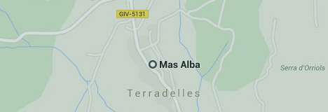 Google Map Mas Alba